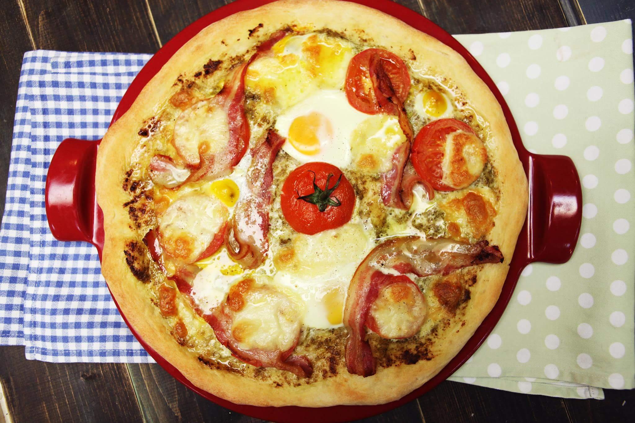 Утренняя пицца